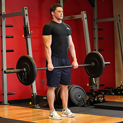 Straight Leg Deadlift