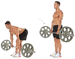 ددلیفت پا صاف (Stiff-legged Deadlift)